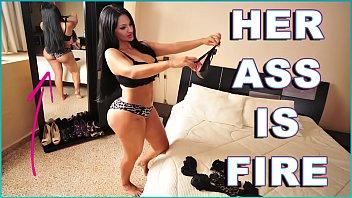 Latina de linda bunda grande fodendo em porno sex